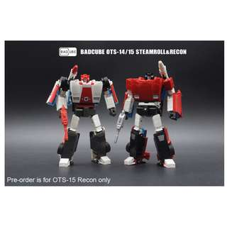 [PRE ORDER] BadCube - Old Timer Series OTS-15 - Recon - Transformable Action Figure