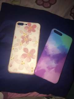 Iphone 7/8 Plus Floral and Paint case