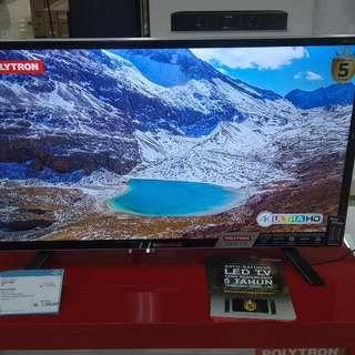 Polytron TV 32T1500 Cukup DP + Free 1X Cicilan Tanpa Kartu Kredit