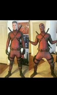 (Pre Order)- Full Body Deadpool Cosplay