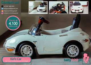 Toyota Battery Toy Car