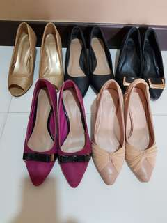 To bless-5 pairs DMK heels