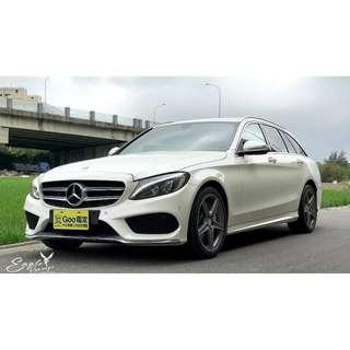 #開車就是要有舒適的空間# #看人看車不會錯 #這款就是你的首選  #傭有18寸大腳 #黑色頂篷的加分 #穿搭AMG黃袍大大加分  #14年 #Benz #C250 #Estate #s205