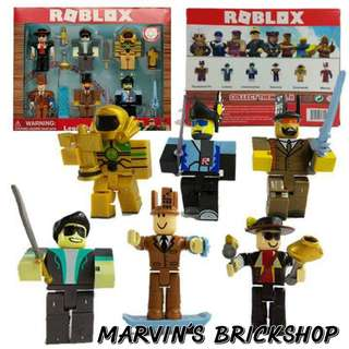 New ROBLOX Building Toys 6 Figures Included (ALT)