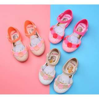 Flower Jelly Shoes