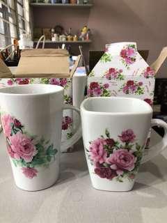 Roses mugs