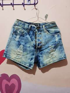 [REPRICE] Hotpants Ripped Jeans