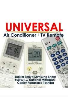 AIRCON REMOTE ★ Universal Air Con Remote Control Controller Daikin LG Panasonic Samsung Toshiba