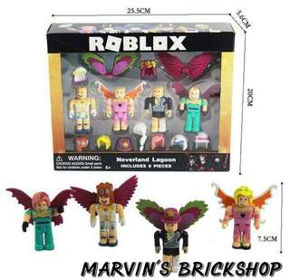 New ROBLOX Building Toys 4 Characters Included