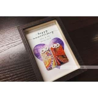 日本夫妻御守連相架 結婚週年紀念 禮物