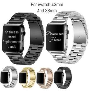 Iwatch stainless steel replacement bands
