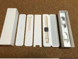 Apple watch sport 38mm gold