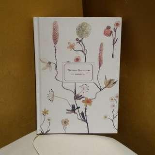 ♡ floral journal