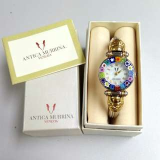 Antica Murrina Ladies Bangel Watch 女款手鐲手錶** 數量有限!