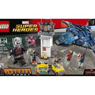 Lego Super Hero Airport Battle