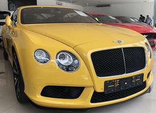 2014 Bentley Continental GTV8