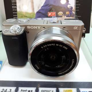 Kamera SONY Alpha 6000 Murah (Kredit Dp 0%)