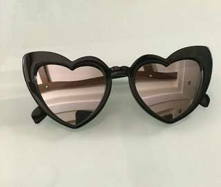 Heart shaped sunnies (reflective)