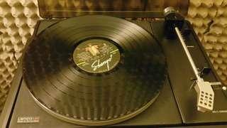 3 Rolling Stones and 1 Santana LP