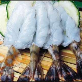 越南玻璃虎蝦刺身 | Glass Tiger Shrimp Sashimi | ブラックタイガー