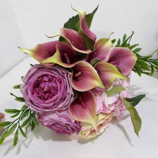 Artificial Flowers Wedding Hand Bouquet
