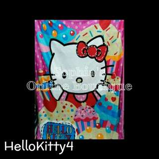 Kids Character Blanket - HELLO KITTY #4