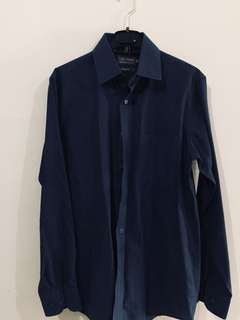Kemeja Marks & Spencer Dark Blue