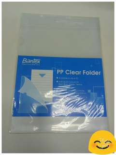 📁 L-Shape A4 Clear Folder 📁