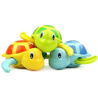 3 pcs Baby Bath Turtle Toys