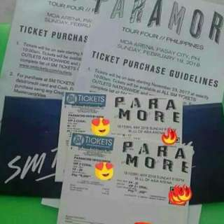 Paramore VIP Ticket