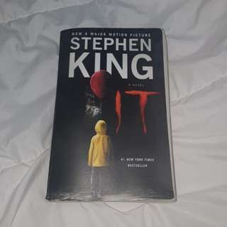 IT the novel book pennywise clown