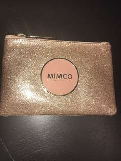 Mimco glittery pouch