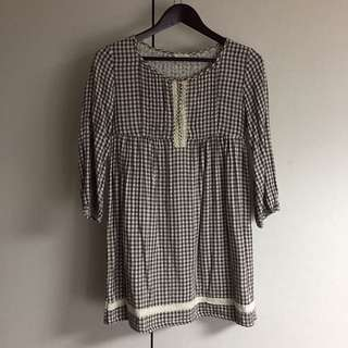 🚚 可議💰)日系100%棉洋裝