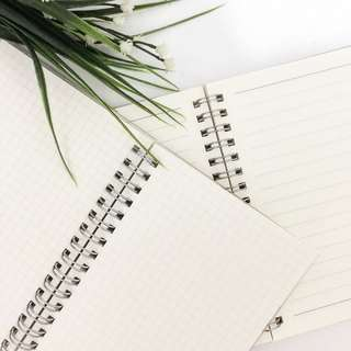 A6 Notebook (Lined, Grid, Blank)