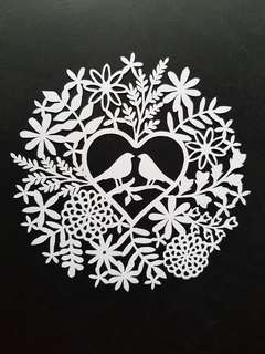 Handmade Papercut Design