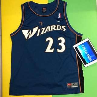 NBA Jersey Nike Jordan 佐敦球衣 巫師隊 23 號
