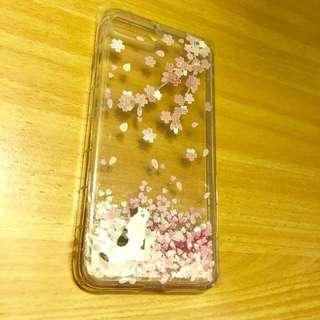 iPhone 7/8 Plus 水流櫻花貓電話套 Sakura with Water Phone Case