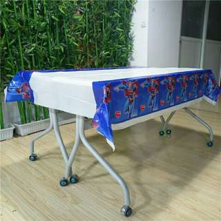 Superman Superheroes Birthday Party Disposable Table Cover