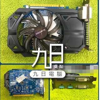 【九日專業二手電腦 】技嘉 GV-N750OC-1GI GTX750 DDR51GDVI-I DVI-D HDMI*2