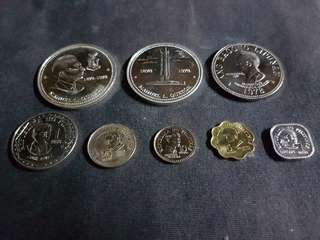 "1978 Franklin Coins Set ""Uncirculated"" (Silver Coins)"