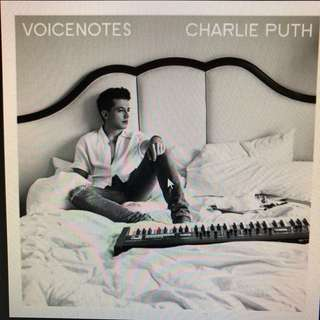 Charlie Puth - Voice Notes