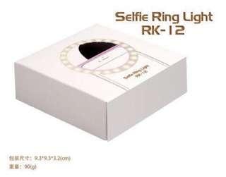 RK-12Selfie ring light