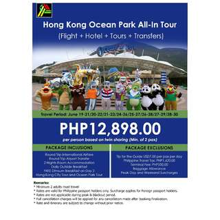 Hong Kong Ocean Park All-In Tour