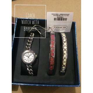 Coach Watch with bracelet