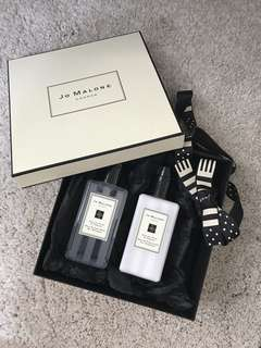 Jo Malone Shower Gel & Body lotion set 🌟香薰沐浴露及潤膚膏