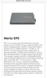 Hertz EP5 Amplifier