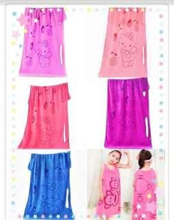 Kids Magic towel (Hello Kitty design)