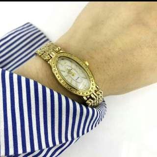 Ladies Gold Plating Watch