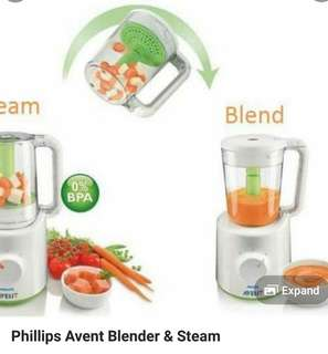 philip event blender 2in1