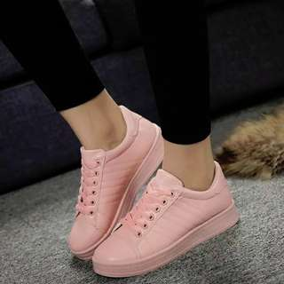 Women sneakers casual Pink